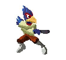 Pixel Falco Lombardi Star Fox Melee Photographic Print