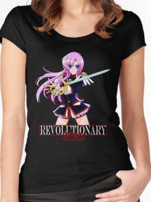Revolutionary Girl UTENA Women's Fitted Scoop T-Shirt