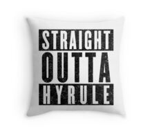 Hylian with Attitude Throw Pillow
