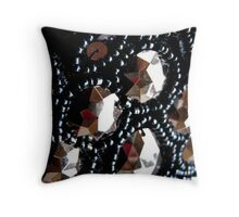 Bead and sequins Throw Pillow