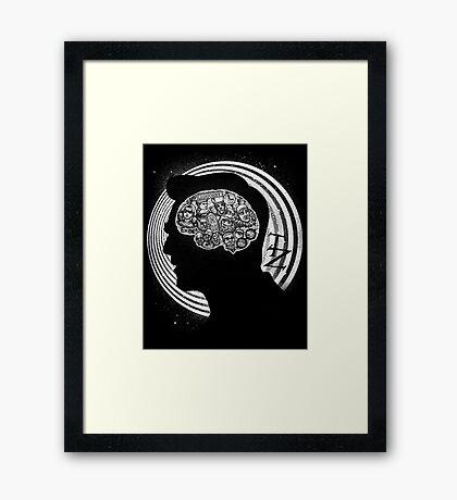 A Dimension of Mind Framed Print