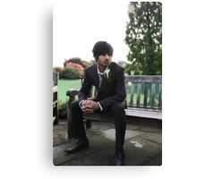 Male Groom Canvas Print