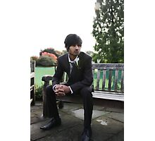 Male Groom Photographic Print