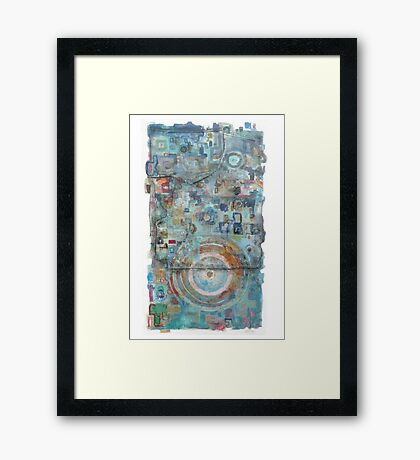 Jakes bus ticket no. 1 Framed Print