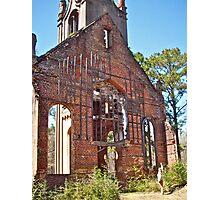 Church ruins Photographic Print