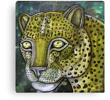 Hunting Leopard Canvas Print