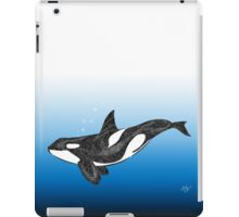 The Deep Blue Sea Orca iPad Case/Skin