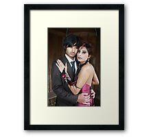 Gothic Wedding Framed Print