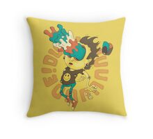 Acid Eyes Throw Pillow