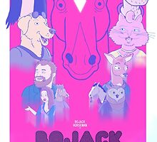 Bojack Horseman Movie Poster by rumham