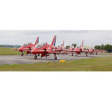 Red Arrows Panoramic Photographic Print