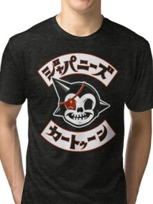Japanese Cartoon Tri-blend T-Shirt