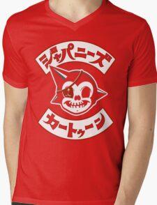 Japanese Cartoon Mens V-Neck T-Shirt