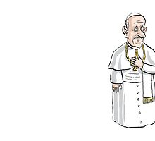 Pope Francis by MacKaycartoons