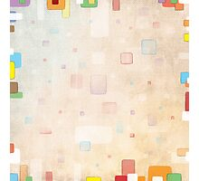 Colorful Blocks Photographic Print