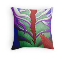 Dead Mermaid Throw Pillow