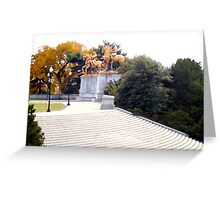 DC Autumn  Greeting Card