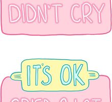 Spoonie Achievement:  Cried/Didn't Cry by spooniestickers