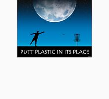 Putt Plastic In Its Place #3 Unisex T-Shirt