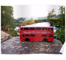 Little Red Bus - Living on the Edge Poster