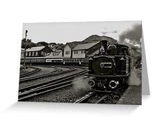 Welsh Steam Train Greeting Card