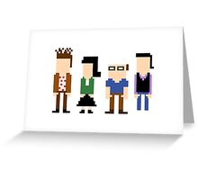 8-Bit Seinfeld Greeting Card