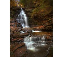 Ozone Falls (in Autumn) Photographic Print
