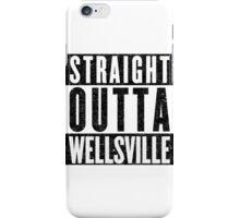 Wellsville Represent! iPhone Case/Skin