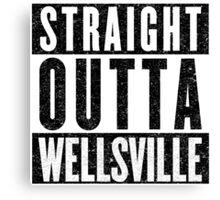 Wellsville Represent! Canvas Print