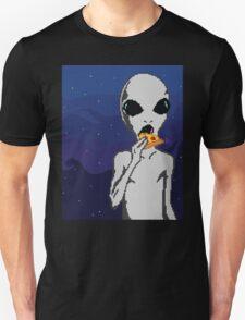 Alien w/ Pizza Slice T-Shirt