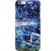 Azurite with Barite and Malachite iPhone Case/Skin