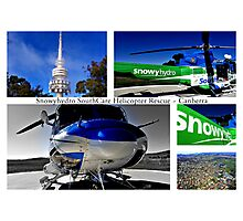 Snowyhydro SouthCare Helicopter Rescue ~ Canberra Photographic Print
