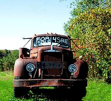 Old Red Truck by Kathleen Struckle