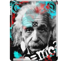 E=mc2 Albert Einstein Abstract portrait iPad Case/Skin