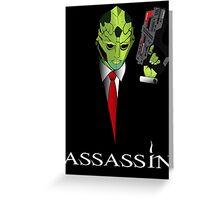 Assassin Greeting Card