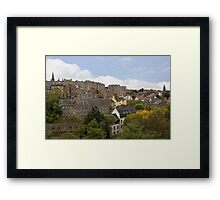 From The Dean Bridge Framed Print