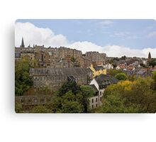 From The Dean Bridge Canvas Print