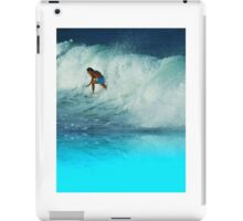 Surfing Girl iPad Case/Skin