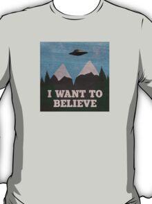 X-Files Twin Peaks mashup T-Shirt