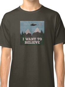 X-Files Twin Peaks mashup Classic T-Shirt