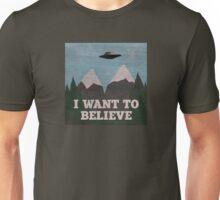 X-Files Twin Peaks mashup Unisex T-Shirt