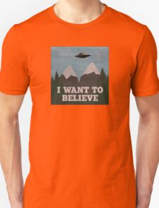 X-Files Twin Peaks mashup Unisex T-Shirt