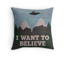 X-Files Twin Peaks mashup Throw Pillow