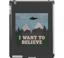 X-Files Twin Peaks mashup iPad Case/Skin