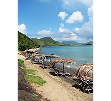 Beach Bar in St. Kitts Photographic Print
