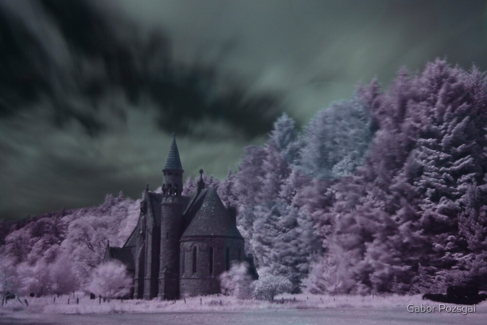 St Palladius Church, Glen of Drumtochty by Gabor Pozsgai