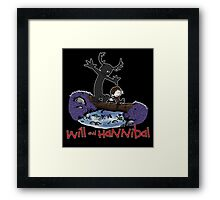 Will and Hannibal Framed Print