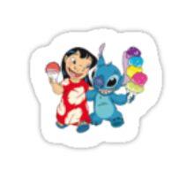 loilo and stitch Sticker
