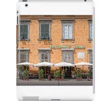 Restaurant Giglio - Lucca iPad Case/Skin