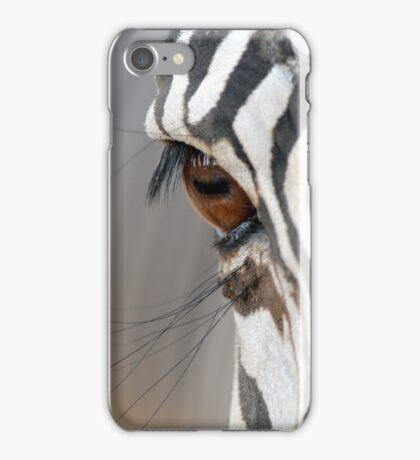 Zebra Eye iPhone Case/Skin